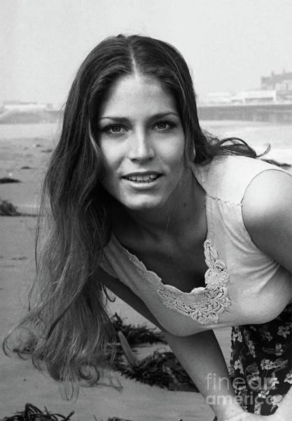 Photograph - Juanita - Hot High School Babe - Santa Monica Beach - Circa 1974 - 2a by Doc Braham