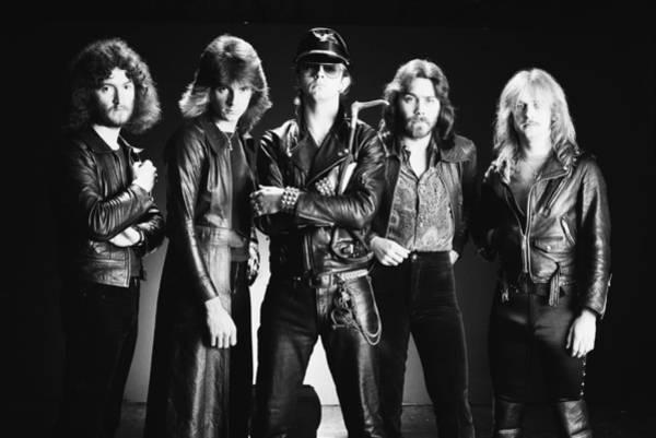 Photograph - Judas Priest by Fin Costello