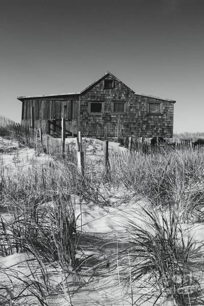 Wall Art - Photograph - Judges Shack In Black And White by Colleen Kammerer