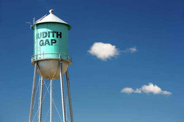 Wall Art - Photograph - Judith Gap Water Tower by Todd Klassy