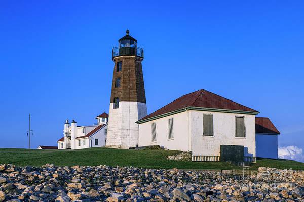 Wall Art - Photograph - Judith Point Lighthouse by John Greim