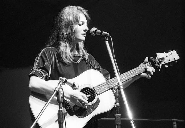 Singer Island Photograph - Judy Collins Performing At Newport Folk by Tom Copi