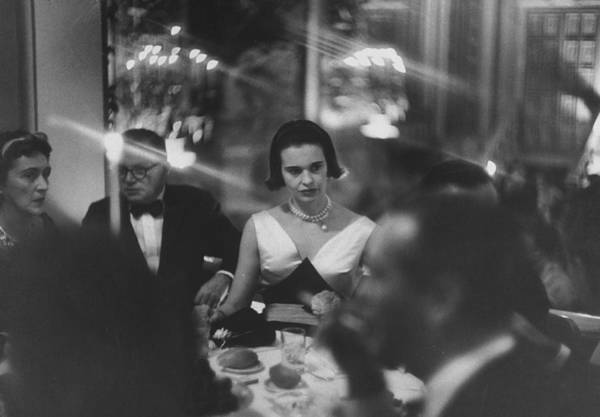 Wall Art - Photograph - Jule Styne & Gloria Vanderbilt by Gordon Parks