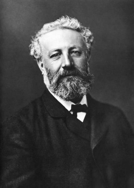 Wall Art - Photograph - Jules Verne Portrait - By Felix Nadar - 1878 by War Is Hell Store