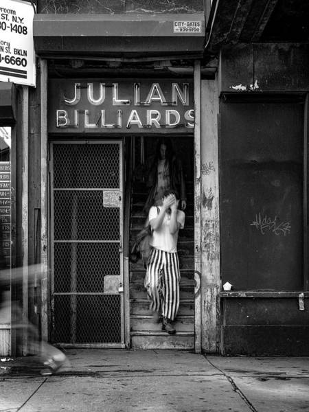 Storefront Photograph - Julian Billiards by Michael Gerbino