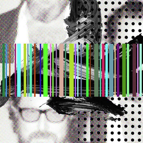 Barcode Digital Art - Julian by Michael Mathews