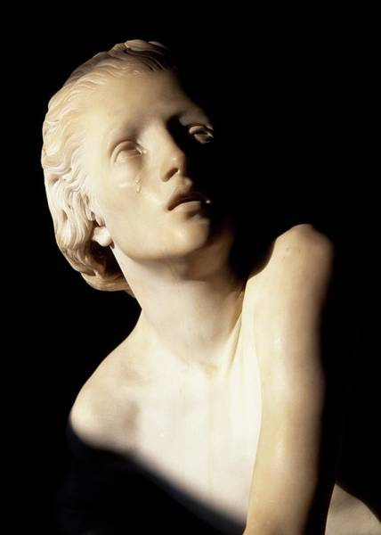 Romeo And Juliet Photograph - Juliet Capulet, Detail From Statue, Tomb Of Juliet, Former Convent Of St Francis, Corso, Verona, Veneto, Italy by Unknown