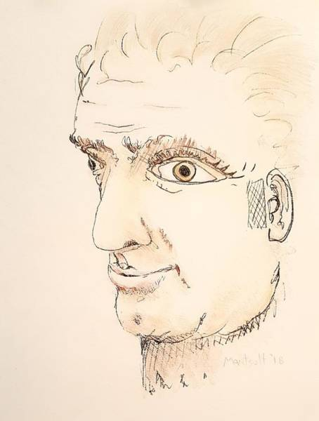 Drawing - Julius Caesar by Dave Martsolf