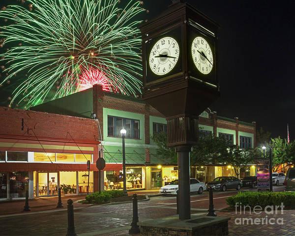 Photograph - July 4th Sanford, Florida by John Zawacki