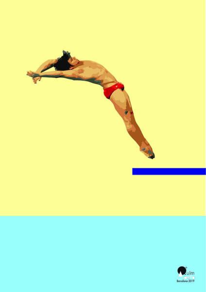 Sportsman Digital Art - Jump by Joaquin Abella