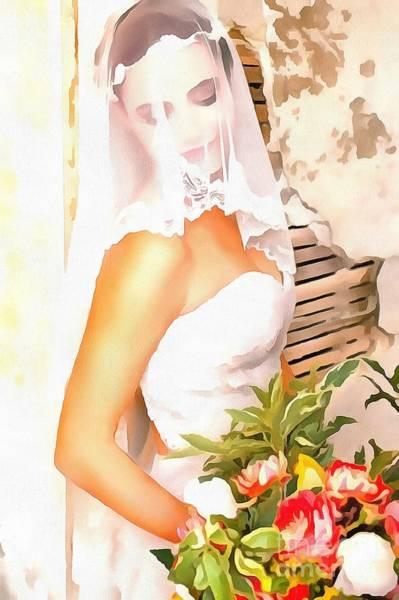 June Bride Art Print