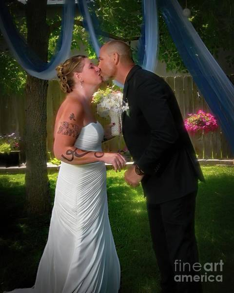 Photograph - June Bride by Jon Burch Photography
