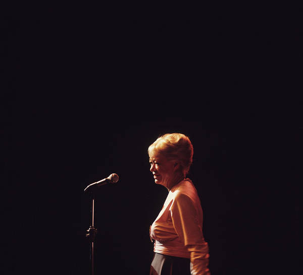Center Stage Photograph - June Christy Performs At Newport by David Redfern