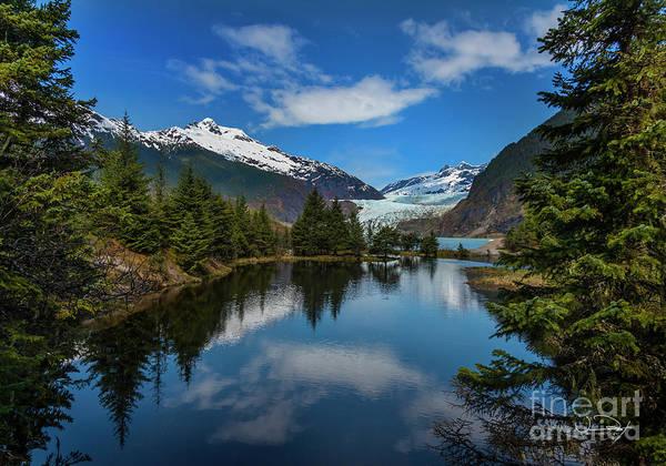 Wall Art - Photograph - Juneau Alaska Mendenhall Glacier One by Vance Fox