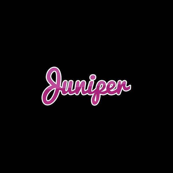 Juniper Wall Art - Digital Art - Juniper #juniper by TintoDesigns