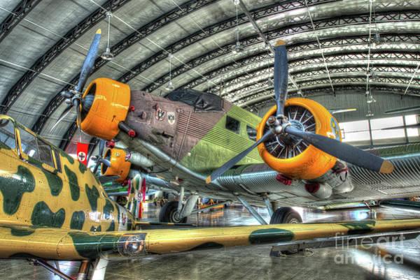 Ju 52 Wall Art - Photograph - Junkers Ju-52 Tante Ju, Tri-motor by Greg Hager