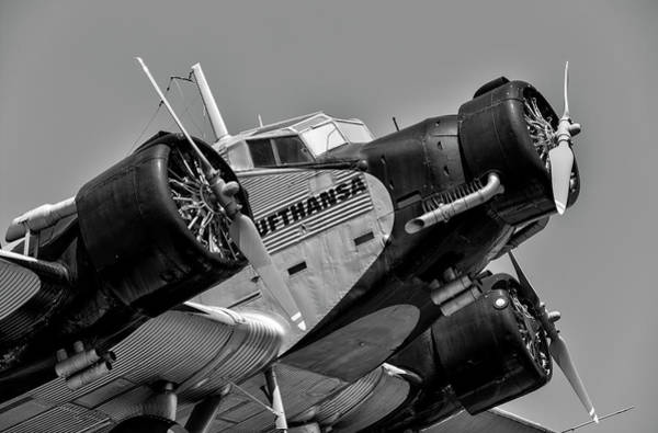 Ju 52 Wall Art - Photograph - Junkers Ju 52/3m by David Pyatt