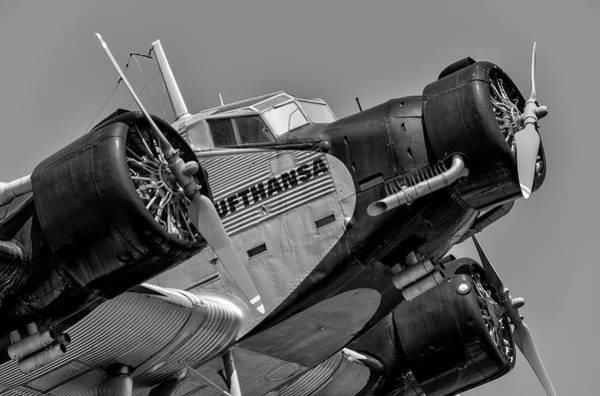 Ju 52 Wall Art - Photograph - Junkers Ju 52 Aircraft by David Pyatt