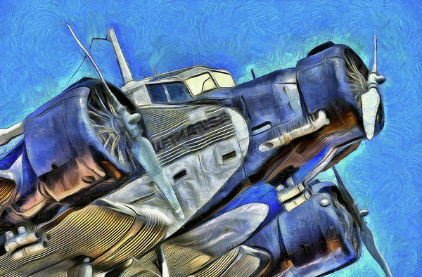 Ju 52 Wall Art - Photograph - Junkers Ju 52 Art by David Pyatt