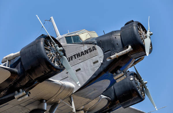 Ju 52 Wall Art - Photograph - Junkers Ju 52 by David Pyatt