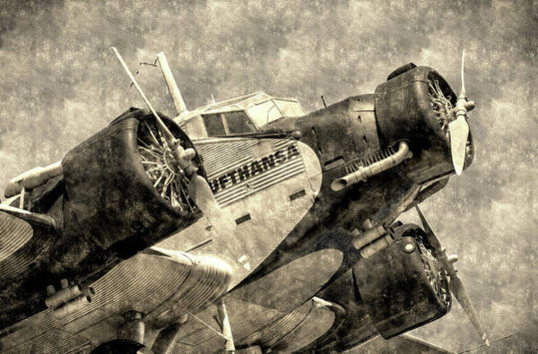 Ju 52 Wall Art - Photograph - Junkers Ju 52 Vintage by David Pyatt