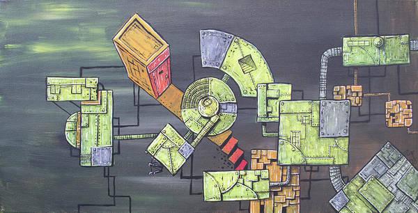 Wall Art - Painting - Junkyard by Chase Fleischman