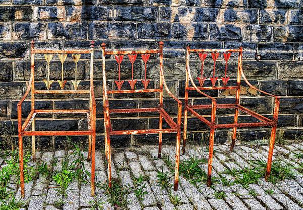 Wall Art - Photograph - Junkyard Seating by Kathi Isserman