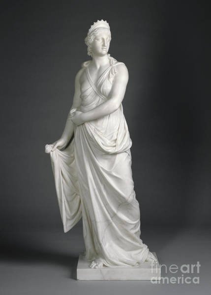 Wall Art - Sculpture - Juno, 1776 Marble by Joseph Nollekens