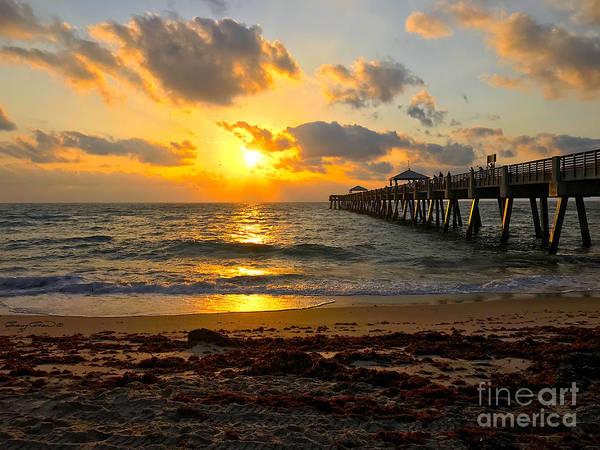 Wall Art - Photograph - Juno Beach Sunrise by Carey Chen