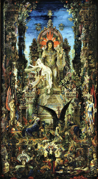Wall Art - Painting - Jupiter And Semele - Digital Remastered Edition by Gustave Moreau