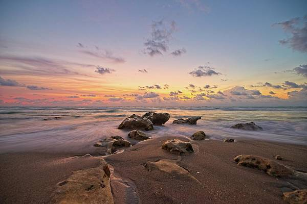 Photograph - Jupiter Beach 2 by Steve DaPonte