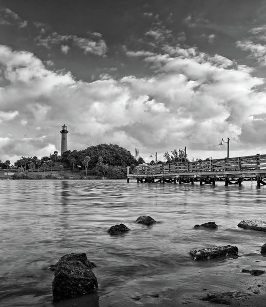 Photograph - Jupiter Lighthouse 2 by Steve DaPonte