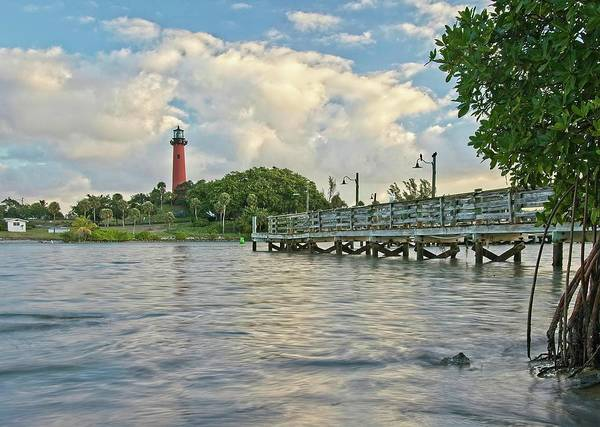 Photograph - Jupiter Lighthouse 3 by Steve DaPonte