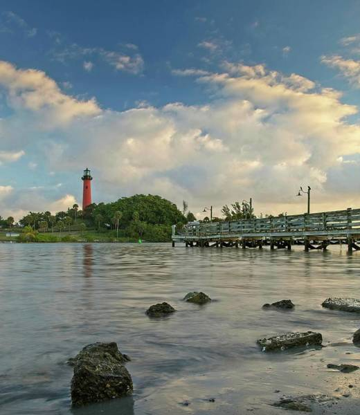 Photograph - Jupiter Lighthouse by Steve DaPonte