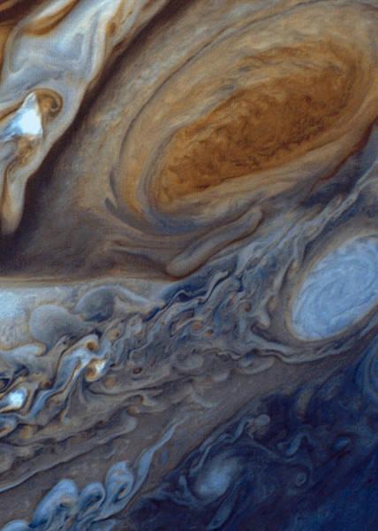 Wall Art - Digital Art - Jupiter Red Spot by Filip Hellman