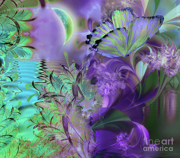 Wall Art - Painting - Just A Dream II by Mindy Sommers