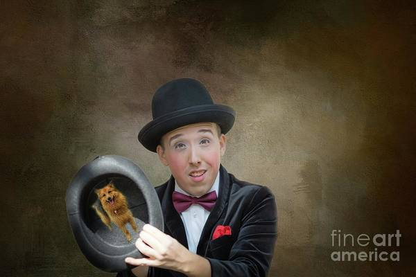 Purebred Mixed Media - Just A Magic Trick by Eva Lechner