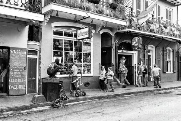 Wall Art - Photograph - Just Another Day On Bourbon Street New Orleans by John Rizzuto