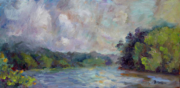 Painting - Just Around The Bend by Lisa Blackshear