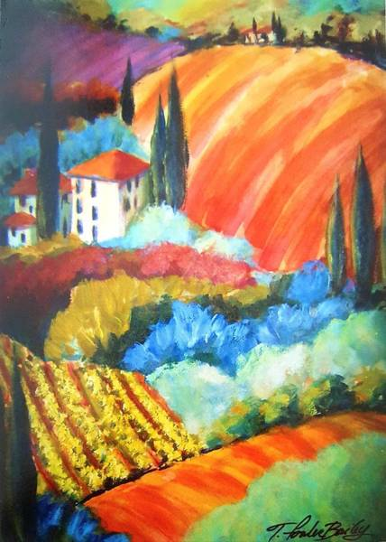 Wall Art - Painting - Just For Ben 2  by Therese Fowler-Bailey