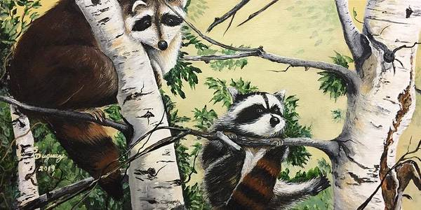 Painting - Just Hanging In There  by Sharon Duguay