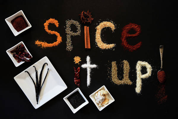 Wall Art - Photograph - Just Spice It Up by Marnie Patchett