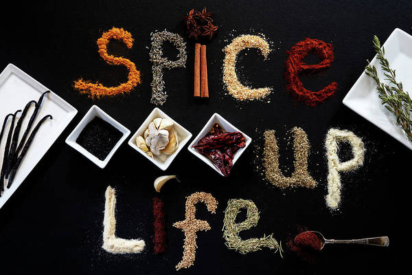 Wall Art - Photograph - Just Spice Up Life by Marnie Patchett