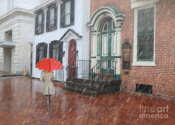 Photograph - Just Walkin' In The Rain by Geoff Crego