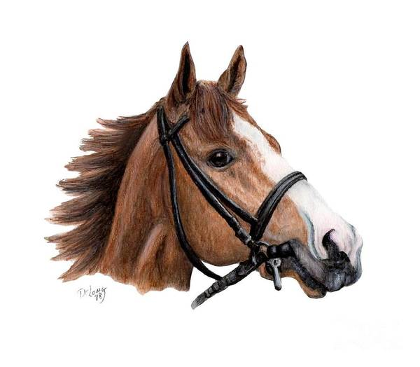 Wall Art - Painting - Justify   by Pat DeLong