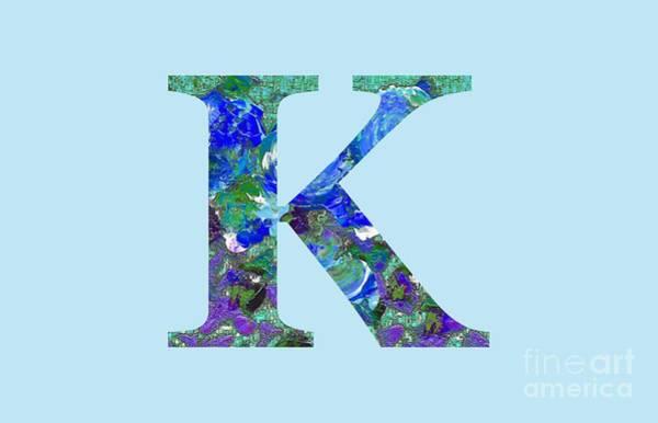 Digital Art - K 2019 Collection by Corinne Carroll