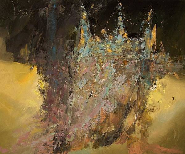 Wall Art - Painting - K I N G O R N A D O  by Roland Oil Painting