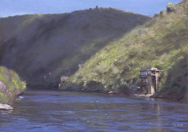 Painting - Kaaimans River, Wilderness by Christopher Reid