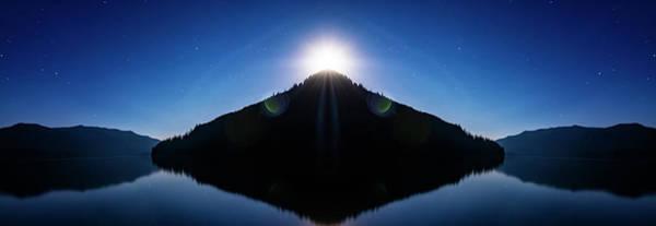 Wall Art - Photograph - Kachess Lake Reflection by Pelo Blanco Photo