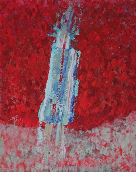 Wall Art - Painting - Kachina Doll Original Painting by Sol Luckman